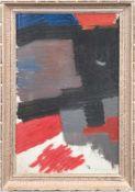 """Malkowsky, Heiner (1920-1988) """"Paar abstrakte Kompositionen"""", Öl/Lw., auf Holzplatteaufgezogen,"""