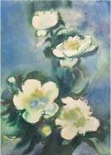 """Heckendorf, Franz (1888 Berlin-1962 München) """"Blumenstilleben"""", Aquarell, sign. u.r.,45x32 cm,"""