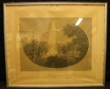 Stich, Sanssouci, Außenmaß: ca. 55 x 46 cm, verglast- - -22.00 % buyer's premium on the hammer