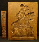 Paar Spekulatiusbretter, ca. 50 x 39, 7 x 38 cm- - -22.00 % buyer's premium on the hammer price19.00