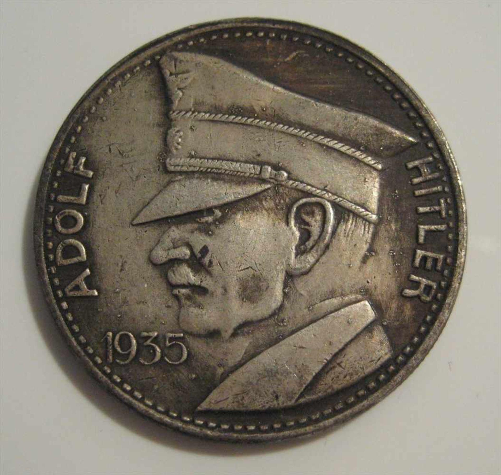 Münze 5 Reichsmark 1935 Adolf Hitler Silber 20 5 G D 3 6 Cm