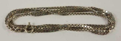 Venezianerkette, 925er Silber, Gew.17g, L.80cmVenetian necklace, 925er silver, weight 17g, L.80cm- -