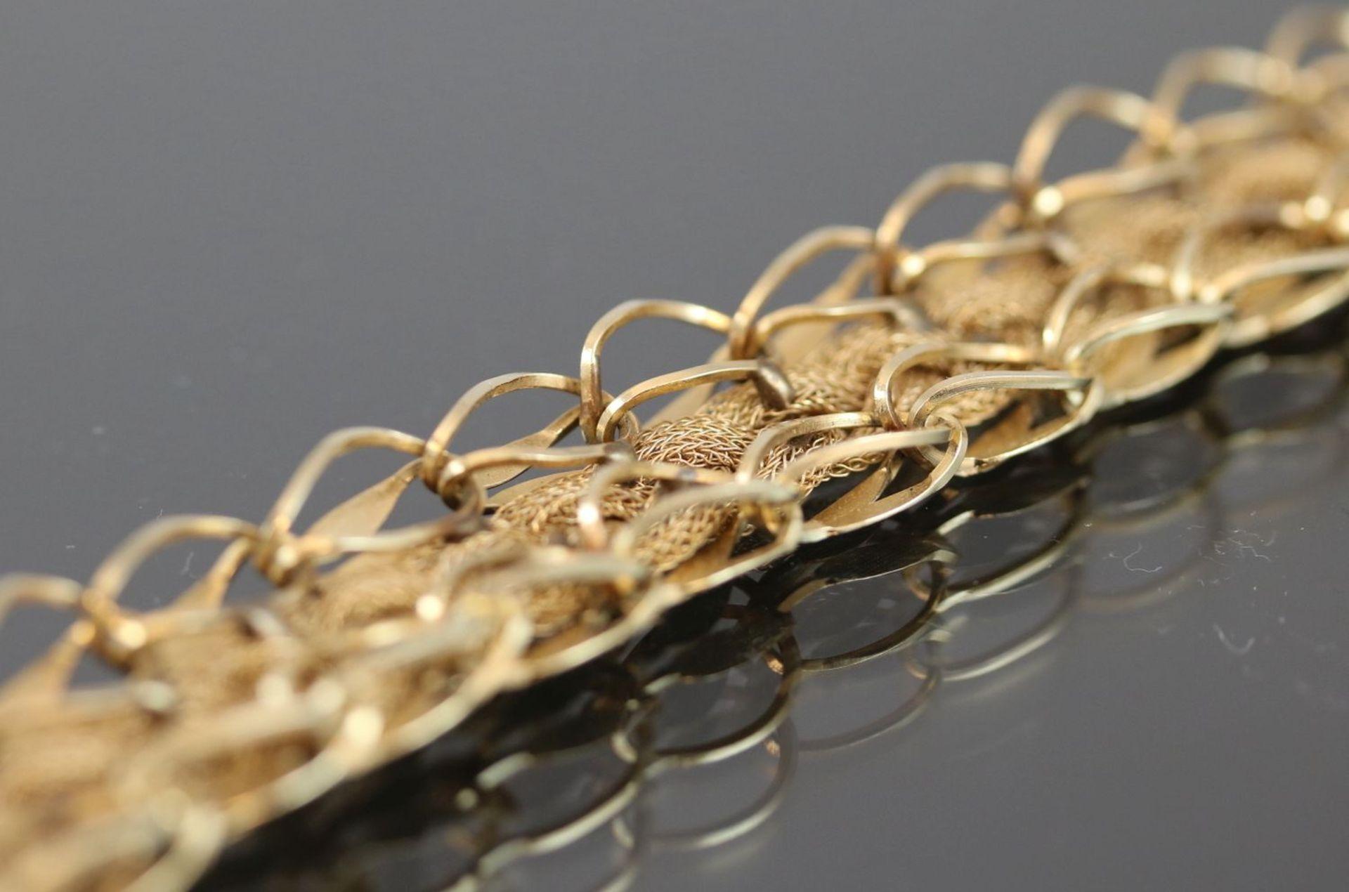 Los 35 - Armband, 585 Gold19,3 Gramm Länge: 19 cm