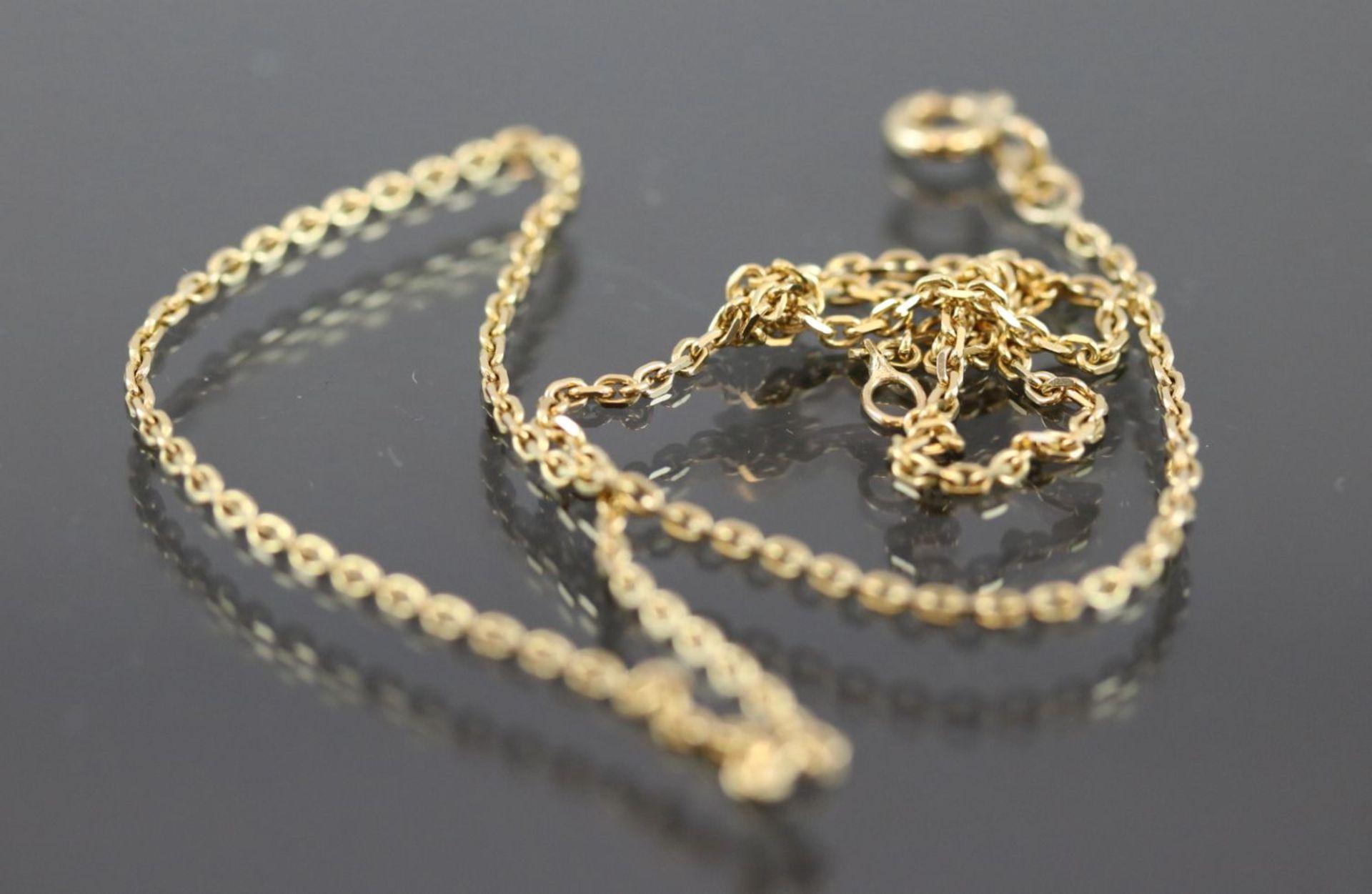 Los 20 - Goldkette, 585 Gelbgold3,9 Gramm Länge: 40 cm