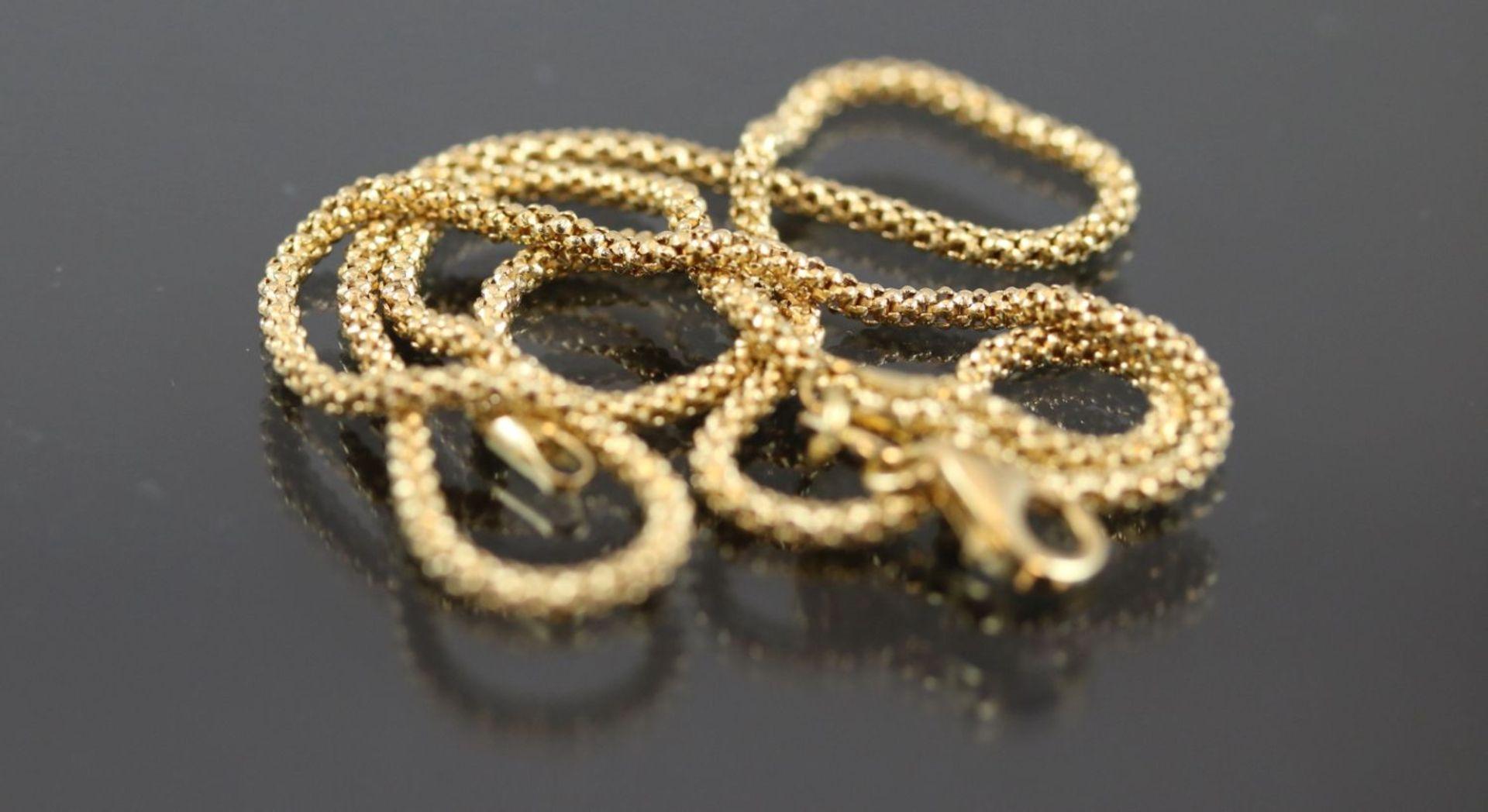 Goldkette, 750 Gelbgold5,9 Gramm Länge: 42 cm