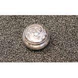 Silber Pillendöschen, 800 Silber11,36 Gramm
