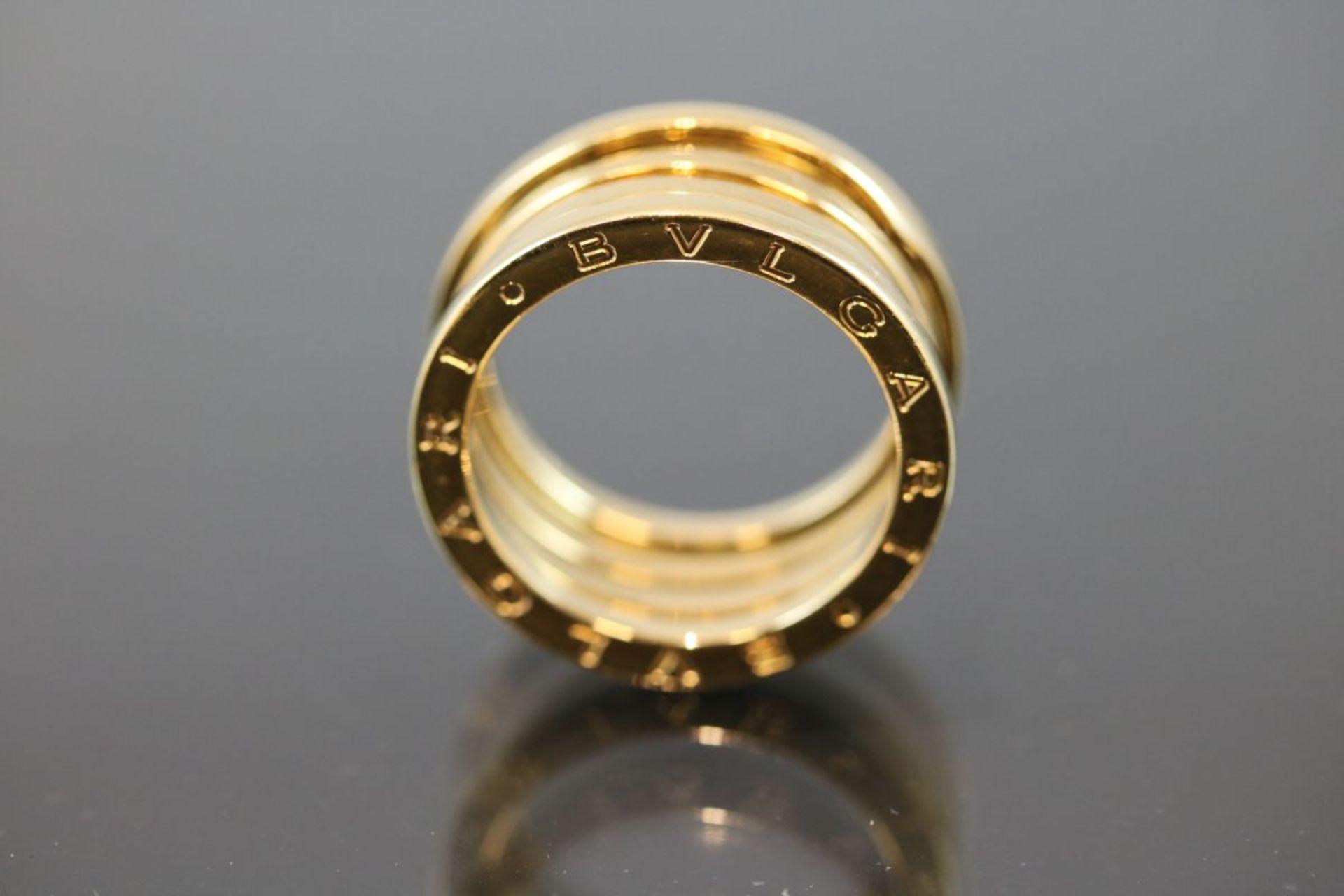 Bulgari-Ring, 750 Gold11,5 Gramm Ringgröße: 57Schätzpreis: 2050,- - Bild 2 aus 3
