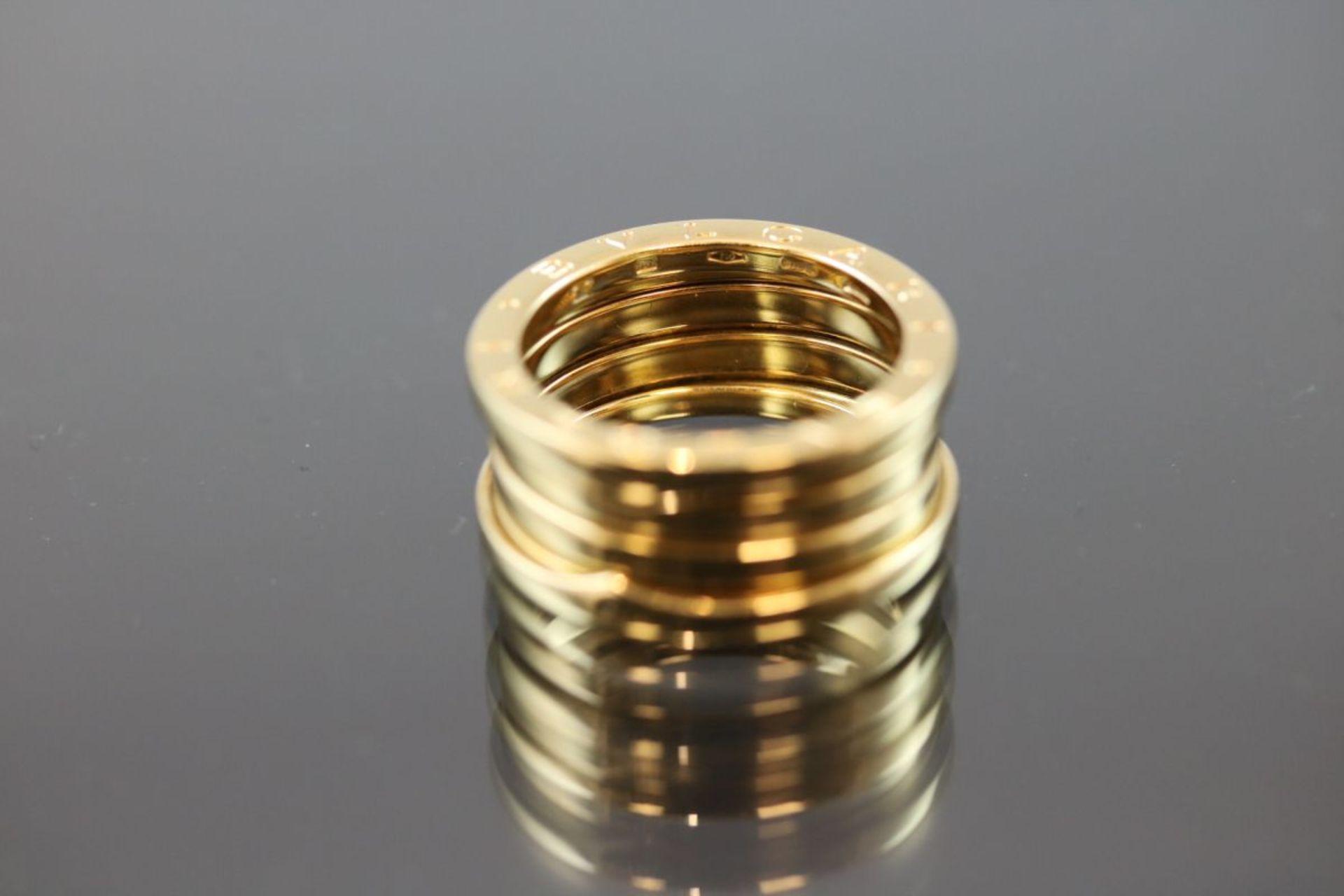 Bulgari-Ring, 750 Gold11,5 Gramm Ringgröße: 57Schätzpreis: 2050,- - Bild 3 aus 3