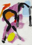 Laabs, Hans (1915 Treptow an der Rega - 2004 Berlin)Komposition. 1971. Öl auf Leinwand, im
