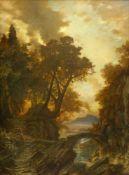 Gurlitt, Heinrich Louis Theodor (1812 Hamburg-Altona - 1897 Naundorf/Schmiedeberg)Castel Gandolfo in