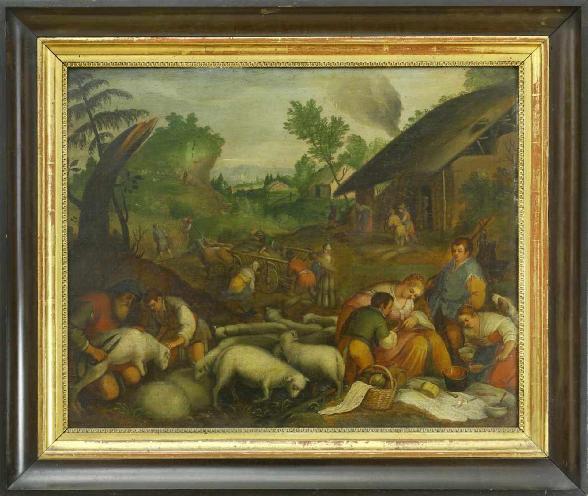 Da Ponte, Jacopo, genannt Bassano (1510/15 Bassano del Grappa - 1592 ebd.) nachDie vier - Bild 5 aus 8