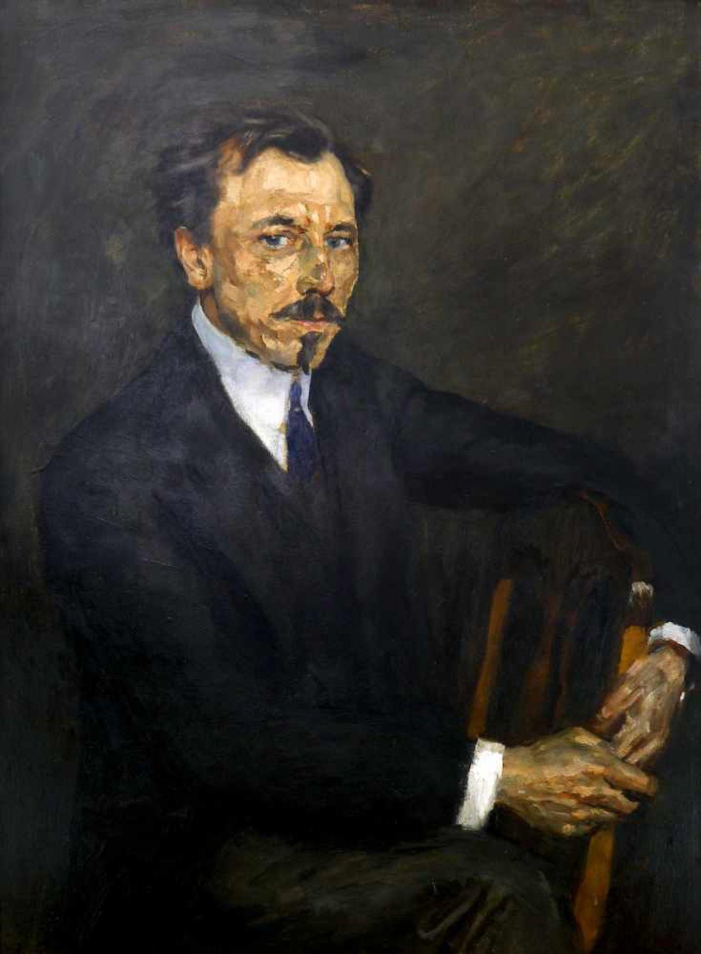 Fürst, Edmund (1874 Berlin - 1955 ebd.)Bildnis des Schriftstellers Erdmann Graeser (1870 Berlin -