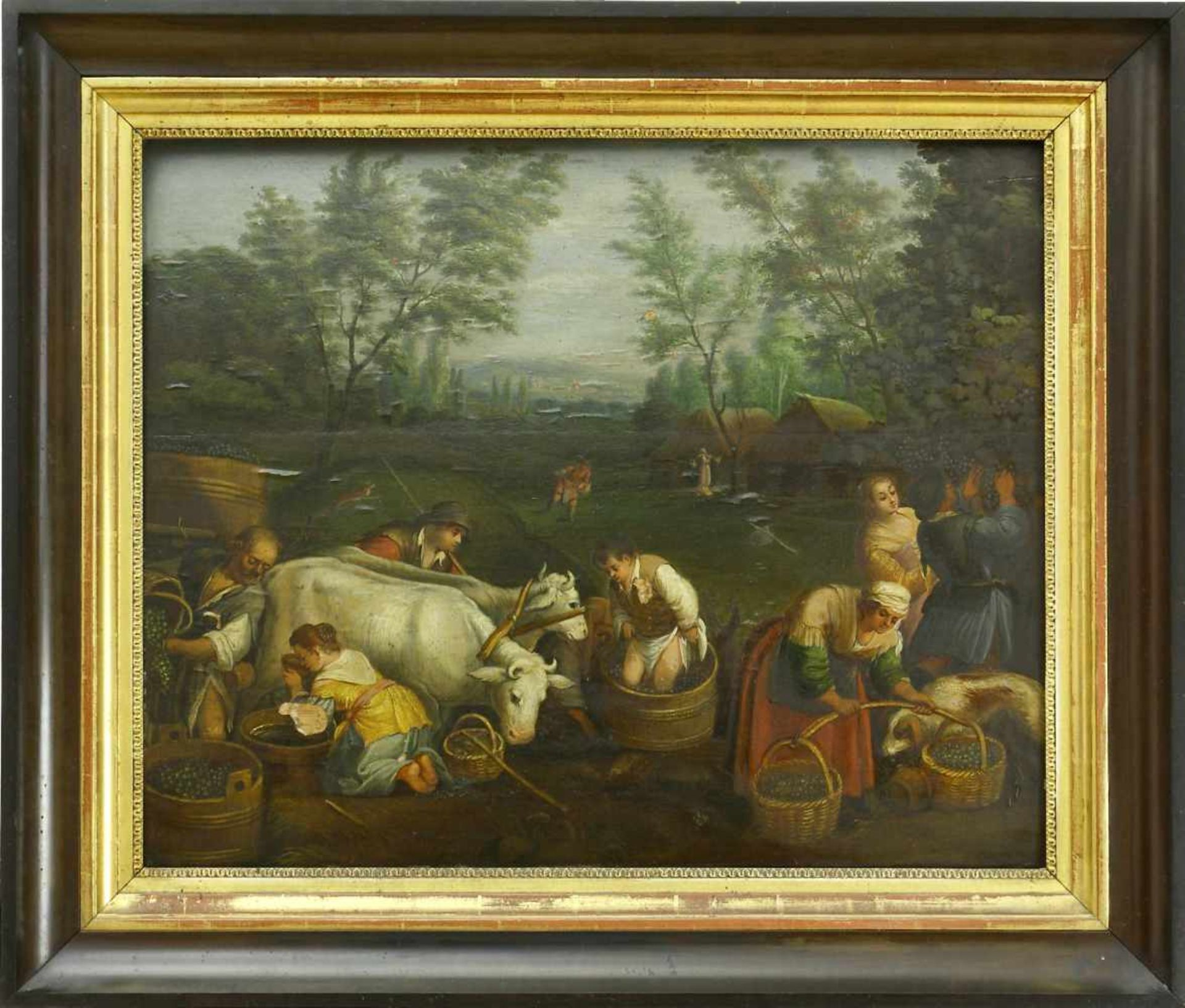 Da Ponte, Jacopo, genannt Bassano (1510/15 Bassano del Grappa - 1592 ebd.) nachDie vier - Bild 3 aus 8