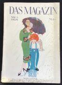 """"""" Das Magazin"""" 1924 Nummer 3, Das Magazin Verlagsgesellschaft Dresden, Zeitschrift wurde 1924"""