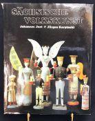 """""""Sächsische Volkskunst"""", VEB Seemann Verlag Leipzig, 1. Auflage, 1982, Johannes Just und Jürgen"""