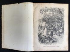 """""""Die Gartenlaube"""", illustriertes Familienblatt, Jahrgang 1900, kompletter Jahrgang, Einband guter"""