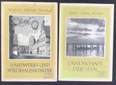 """""""Handwerks und Wirtshausschilder"""" aus der Reihe unsere schöne Heimat, Sachsenverlag Dresden 1958,"""