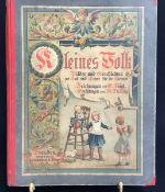 """""""Kleines Volk"""" Erzählungen von M.Th. May, Zeichnungen von G. Voigt, Verlag C.C. Meinhold u. Söhne"""