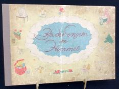 """Bilderbuch für kleine Mädchen """"Bei den Engeln vom Himmel"""", illustriert v. Marianne und Helga"""