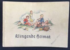 """""""Klingende Heimat"""" Liederbuch für Volksschulen in Hessen-Nassau, nach Erlass des Reichs-"""