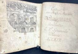 Extract au M.G.C.Raffens Naturgeschichte für Kinder v.C.W.Schoenweis i.Kemniz MCCMXV aber wohl