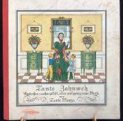 """""""Tante Zahnweh"""", um 1920, Andersen nacherzählt ...von Tante Marga, Bilder M. Simon, Verlag"""