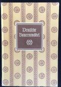 """""""Deutsche Bauernmöbel"""" Friedrich Döppe, Bibliogaphisches Institut Leipzig 1955"""