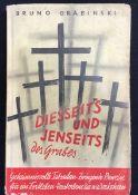 """""""Diesseits und Jenseits des Grabes"""", Bruno Grabinski, Albert Angerer Verlagsanstalt Waldsassen,"""