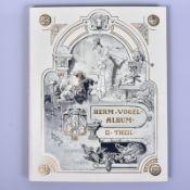 """,,Hermann Vogelalbum"""", II Theil, Verlag von Braun und Schneider, 3. Auflage, um 1900, Zustand 1,"""