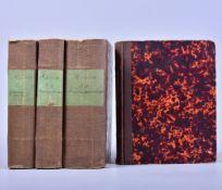 """Julius Mosen (1803 Marieney- 1867 Oldenburg),""""Julius Mosen´s sämtliche Werke"""" Band 1,3,5,7, Verlag"""