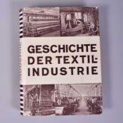 """""""Geschichte der Textilindustie"""", Prof. Johannsen, Südverlag Leipzig-Stuttgart-Zürich, 1932, Leinen"""