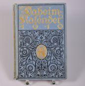 """,, Daheim Kalender"""", 1919, Verlag von Velhagen & Klaßing, herausgegeben von der Daheim-"""
