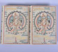 """2 Bände, ,,Durch Asiens Wüsten"""", Drei Jahre auf neuen Wegen in Pamir, Lop-nor, Tibet u China, Band"""