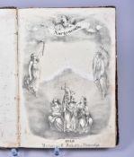 """""""Morgenröthe einer besseren Zukunft"""", Volksblatt, gebunden, 1848, monatl.nebst 3 Bildern, Verlag von"""