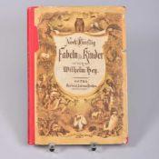 """""""Noch fünfzig Fabeln f. Kinder"""" v. Wilhelm Hen., m. Bildern v. Otto Speckter nebst einem ernsthaften"""