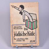 """""""Die jüdische Kiste"""" Der unsterblichen Kiste 2. Teil,A. Moszkowski, Verlag d. lustigen Blätter,"""