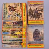 Konvolut Hefte Erlebnis-Bücherei, 18 Stk.,(ein Nachdruck), Steiniger Verlage Berlin, 1930/40-iger