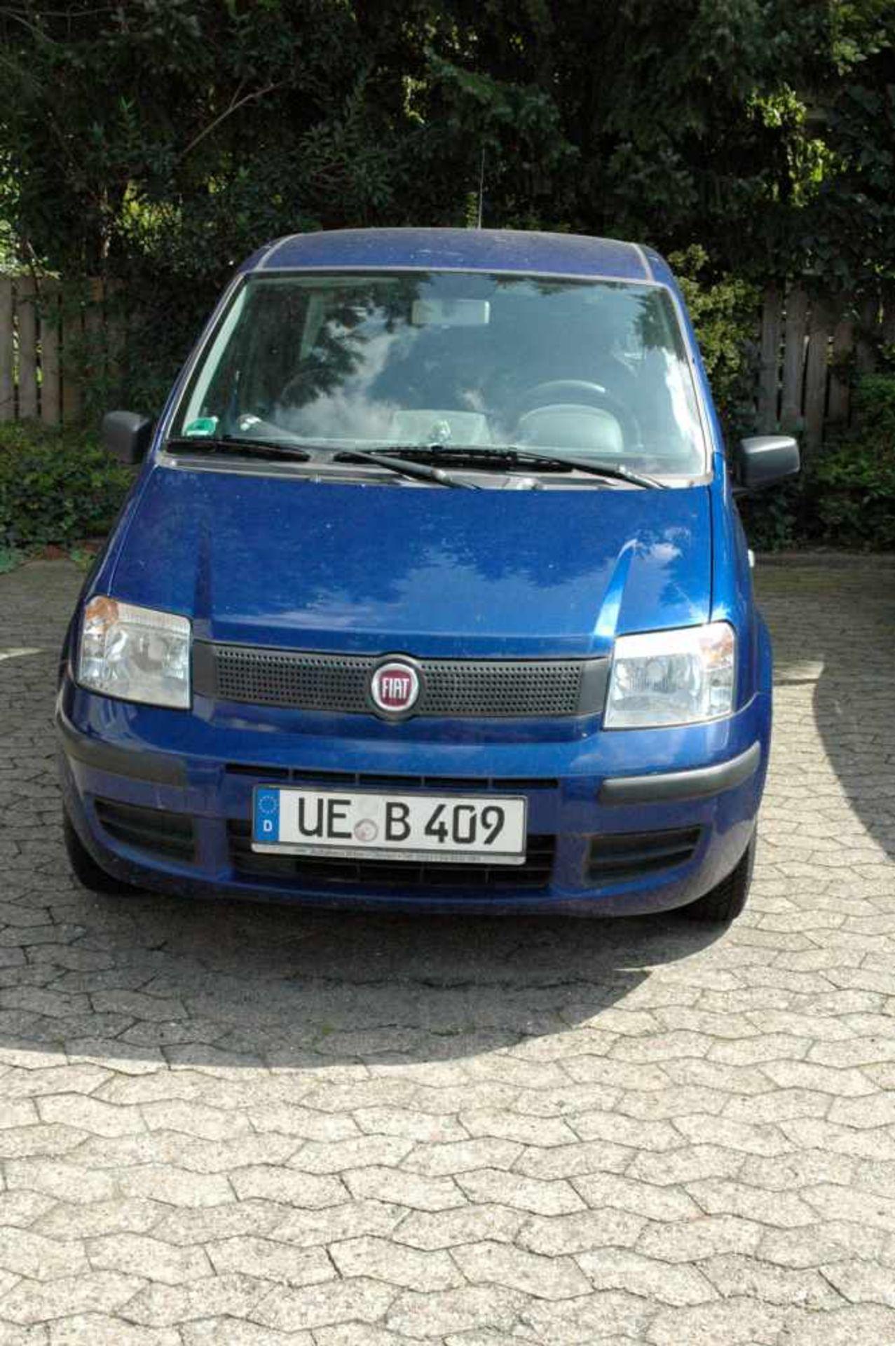PKW, Fiat Panda, EZ 01.04.09, 40 kW, km-Stand: 130965m blau, TÜV 9/20, Benziner, Brief nicht - Bild 2 aus 9