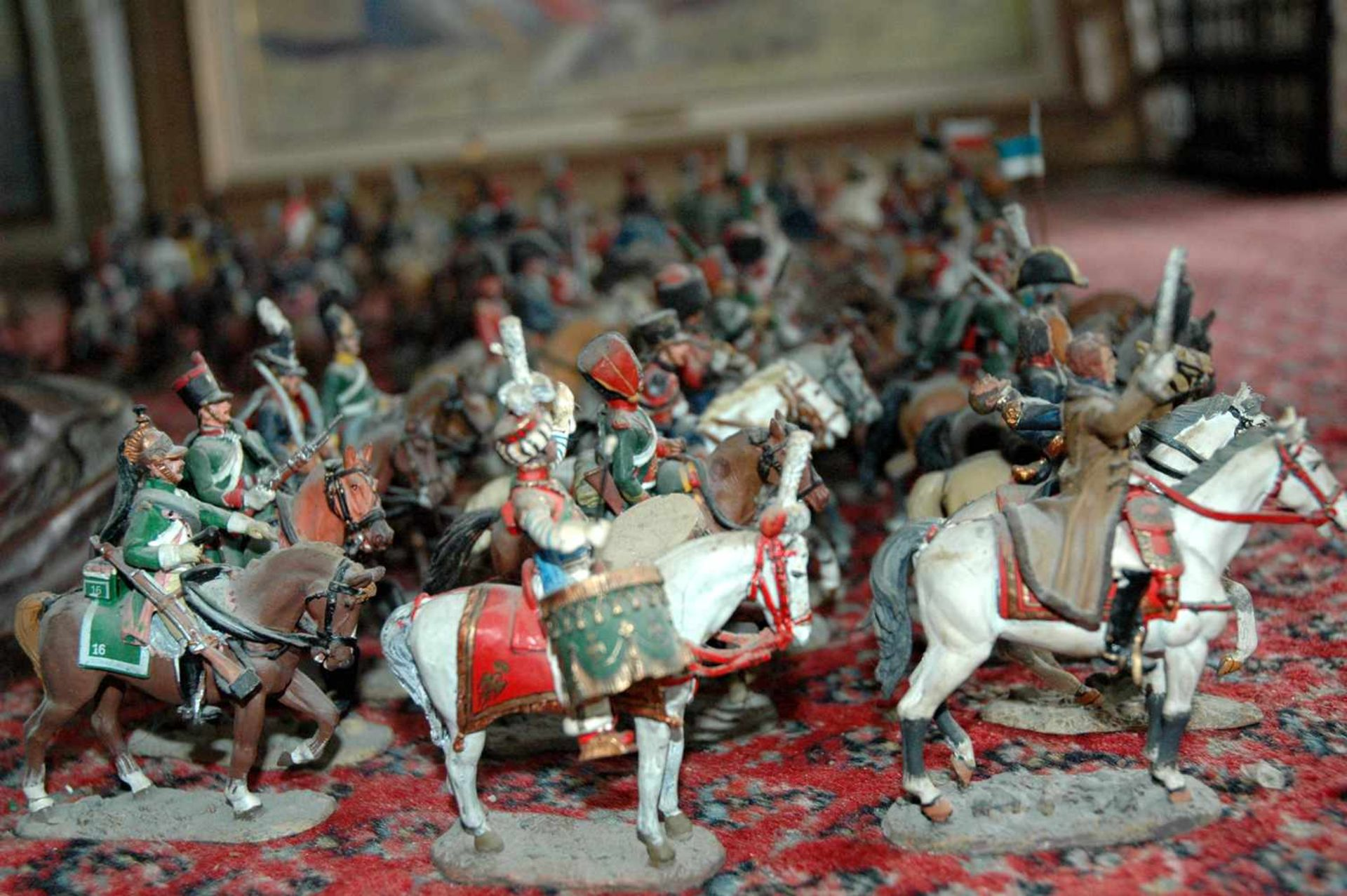 Zinn-Sammelfiguren, delprado: 66 Kavallerie-Figuren, Napoleonische Kriege - Bild 2 aus 4