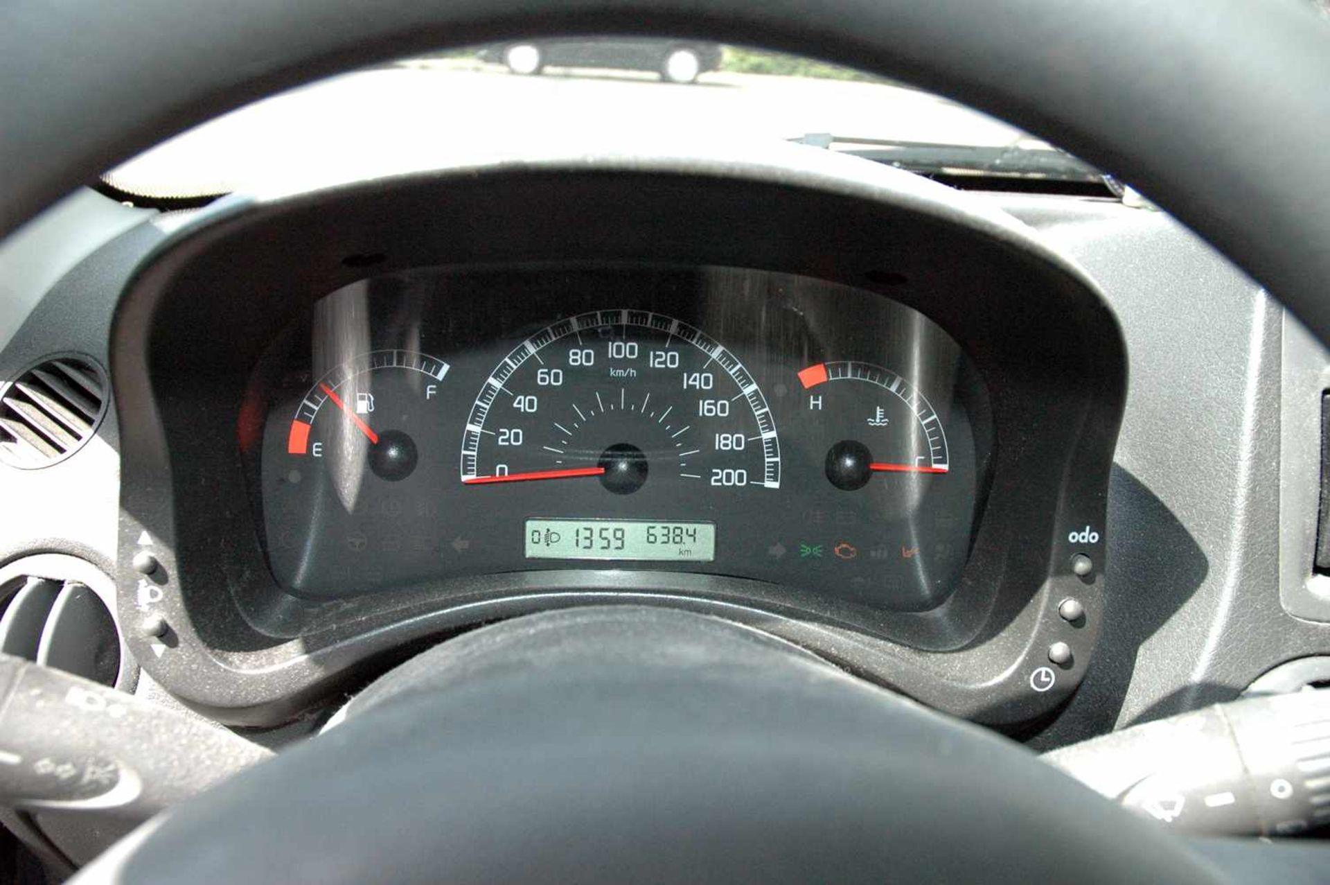 PKW, Fiat Panda, EZ 01.04.09, 40 kW, km-Stand: 130965m blau, TÜV 9/20, Benziner, Brief nicht - Bild 5 aus 9