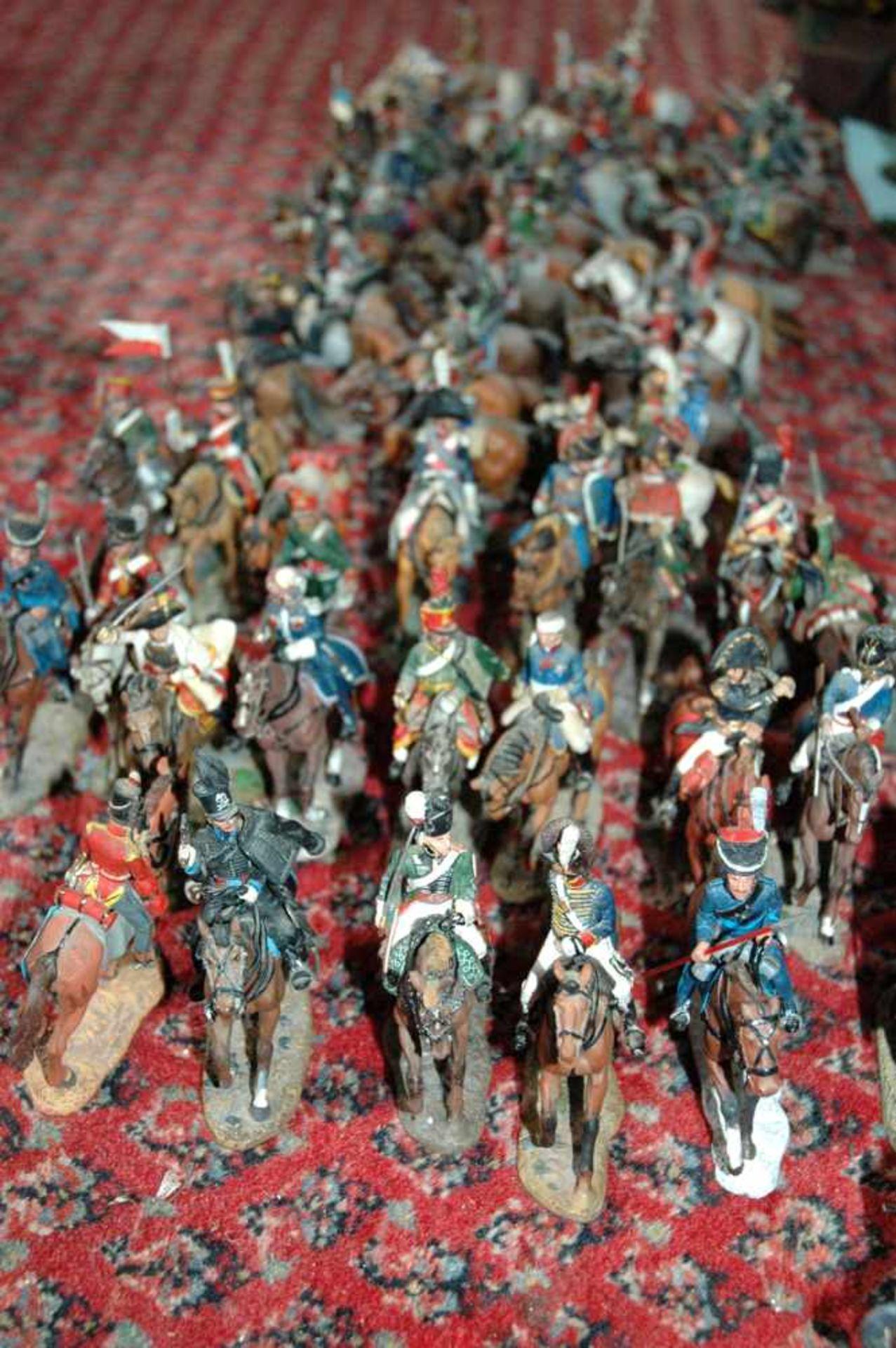 Zinn-Sammelfiguren, delprado: 66 Kavallerie-Figuren, Napoleonische Kriege