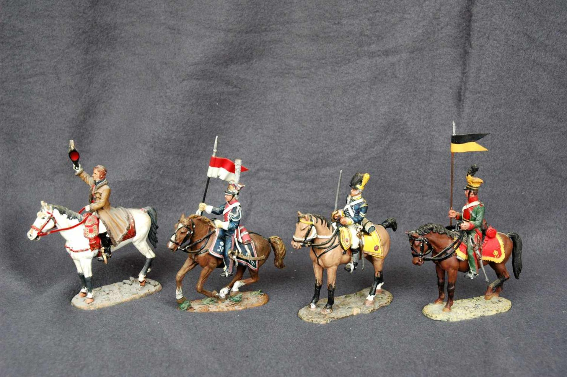 Zinn-Sammelfiguren, delprado: 66 Kavallerie-Figuren, Napoleonische Kriege - Bild 3 aus 4