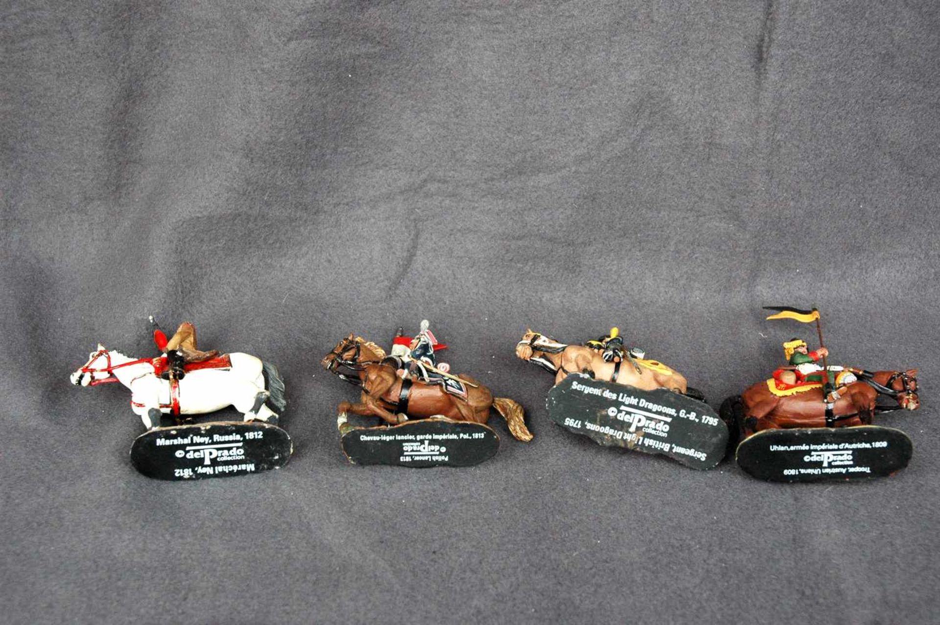 Zinn-Sammelfiguren, delprado: 66 Kavallerie-Figuren, Napoleonische Kriege - Bild 4 aus 4