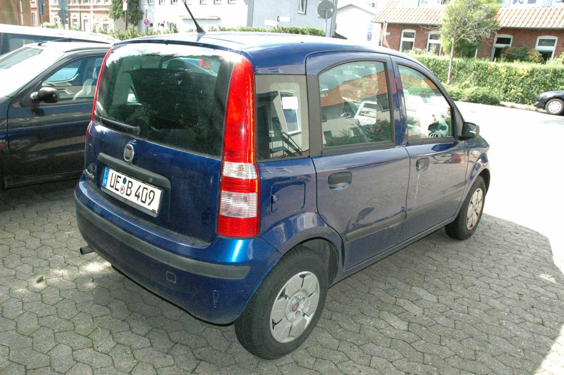 PKW, Fiat Panda, EZ 01.04.09, 40 kW, km-Stand: 130965m blau, TÜV 9/20, Benziner, Brief nicht - Bild 3 aus 9