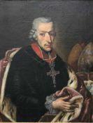 Portrait, Franz Ludwig von Erthal (1730 - 1795), Fürstbischof von Würzburg und Bamberg,