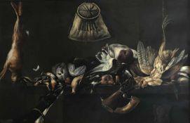 Jan Vonck (Torun 1631 – 1663 Amsterdam), Jagdstilleben. Still life with game. Signiert und datiert