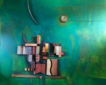 Franken-Design, 2,25 x 2,90 Meter, Lothar Christian Forster (1933 Würzburg - 1990 ebenda) und