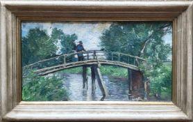 Heinrich Ludwig von Gleichen-Russwurm (1836-1901, Weimarer Schule) zugeschr., Landschaft mit