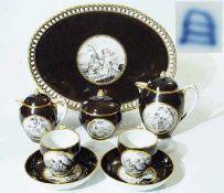 Tête-á-Tête. Königliche Manufaktur Wien, um 1790/1800. Tête-á-Tête. Königliche Manufaktur Wien, um
