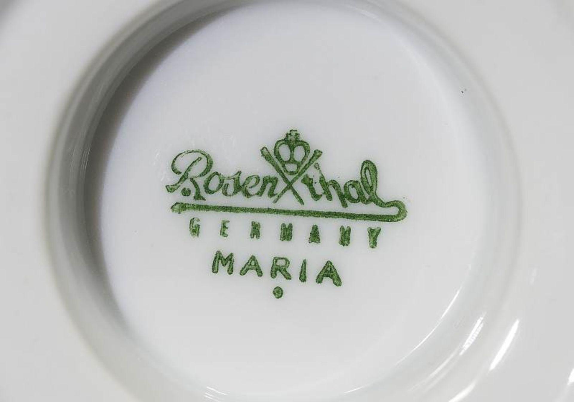 """Restservice ROSENTHAL, Dekor """"Maria Weiss"""". Restservice ROSENTHAL, Dekor """"Maria Weiss"""". Insgesamt 16 - Bild 7 aus 7"""